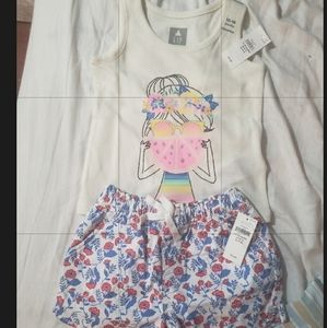 Baby Gap Tank Top and Shorts 12-18 months